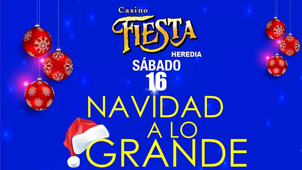 Promoción Diciembre casino fiesta heredia